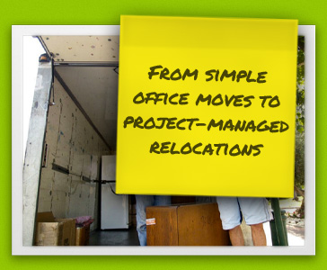 from simple office moves to project managed relocations